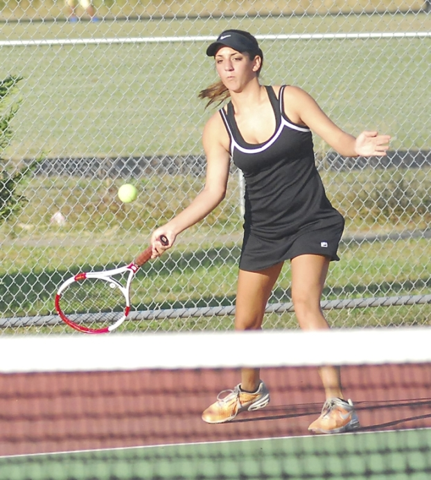Prep Tennis: Hornets Handle Business
