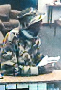 Another image of the Park Sterling Bank robbery suspect.