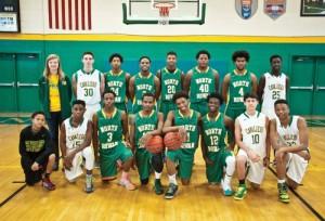 North Rowan High School basketball team