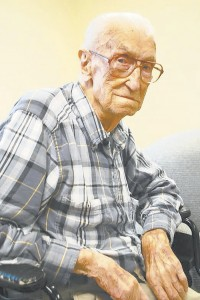 Earl Cranford, a lifelong Rockwell resident, is 101 years old and one of the more than 55,000 centenarians alive today across the country. Elizabeth Roy/For the Salisbury Post