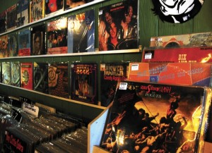 Crossroads music store in Lexington sells a large variety of record albums, including jazz, R&B and classic rock.