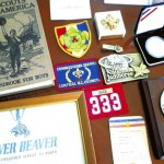 Just a few of the Scouting-related items Holshouser has come to cherish over the years. Mark Wineka/Salisbury Post