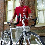 David Freeze leaves next weekend for his third summer cycling adventure. He'll follow the trail of the Underground Railroad from Alabama to Canada, traveling through nine states in the process. Susan Shinn / for the Salisbury Post