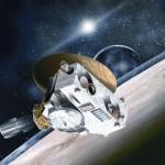 Artist Conception of New Horizons.  JHUAPL/SWRI illustration