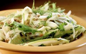 Arugula is a key player in this fennel-rich dish. (Michael Tercha/Chicago Tribune/TNS)