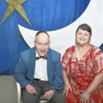 David Upton and Kathy Tart pose for a photo at Trinity Living Center's Wish Upon a Star senior ball. Submitted photo