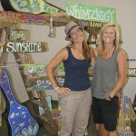 Whimziggy's Meredith Abramson and Emily Brinskelle are artists, teachers and best friends. Susan Shinn/For the Salisbury Post