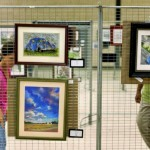 Work by 38 artists is on display at the Salisbury Civic Center. Jon C. Lakey/Salisbury Post
