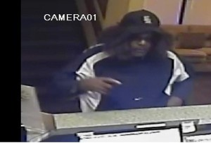 A black man wearing a wig robbed the Days Inn on Sept. 10.