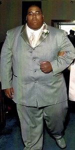 Vinson Smith while battling his weight issues in 2007. Submitted photo.