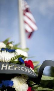 Local emergency personal gather each year on Sept. 11 to remember those who died.