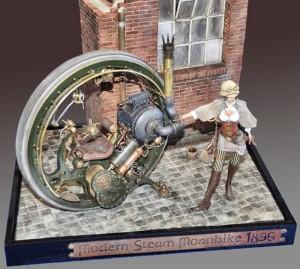 Steambpunk scale model