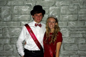 Submitted photo Alex Irvin and Emily Moore were chosen as Homecoming King and Queen for Gray Stone Day School.