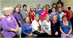 Alpha Delta Kappa sisters hold Founders' Day Celebration.