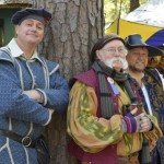 From left: Jeff Coburn of Salisbury, Darrell Brown of Spencer, and Gary Combs perform at Carolina's Renaissance Festival as the Hidden Harbor Mynstrals. Rebecca Rider/Salisbury Post