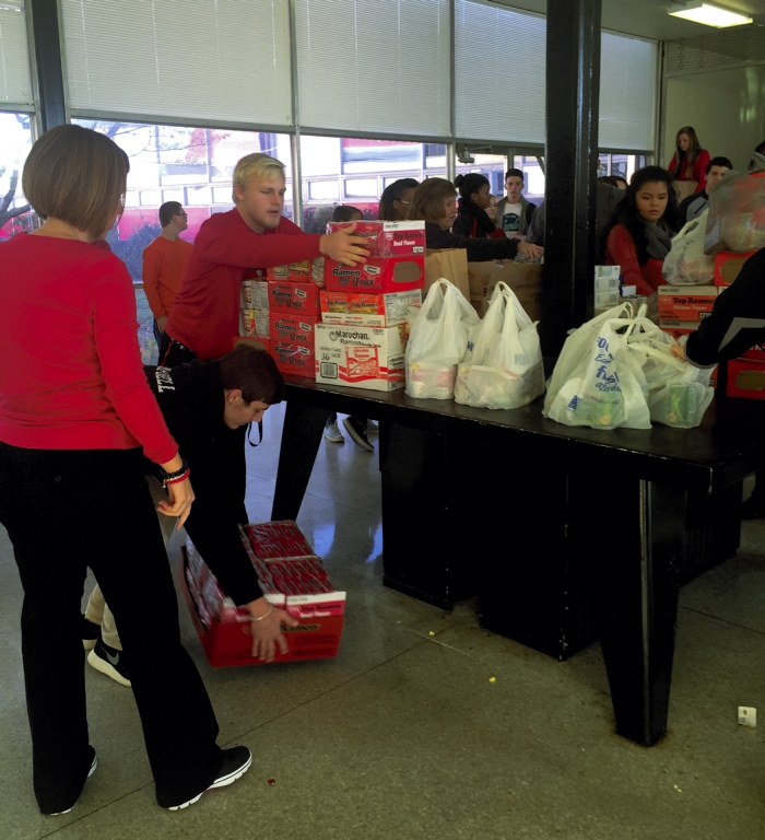 South Rowan Students Donate Items To Main Street Mission