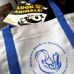 The Rowan Reads to Newborns program sends new parents and their infants home with a reusable tote bag that contains one high-contrast board book, an application for a library card and facts and tips for reading to newborns. Jon C. Lakey/Salisbury Post