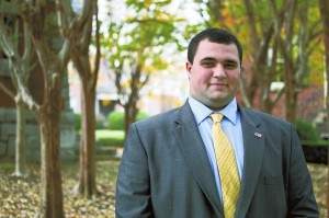 Josh Bergeron / Salisbury Post - 22-year-old Andrew Poston says he will challenge State Rep. Harry Warren for the 77th District seat. Poston lives near Faith in Rowan County.