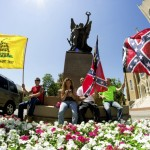 Debates over the Confederate flag and monuments reached Salisbury after a mass shooting at a Charleston church this year. File photo by Josh Bergeron/Salisbury Post