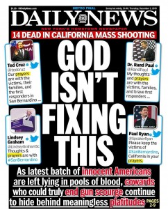 Is it wrong to call for prayer in times of national crisis?