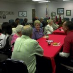 After 16 years of service, Alderwoman Mary Ponds decided not to run for reelection this year. Community members came out to celebrate her service at the Granite Quarry Town Hall on Monday. Amanda Raymond/Salisbury Post