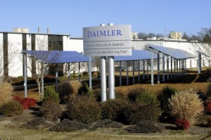 Daimler's Freightliner plant in Clevland also has solar panels.
