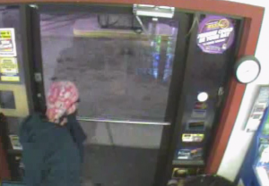 Click on the above image for video footage of the suspect leaving Village Grocery.