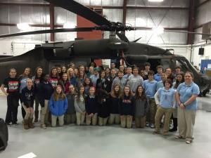 Crosby Scholars tour the Rowan County Airport