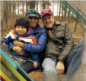 Andrea Magnuson, Ron's wife, is originally from Colombia, South America. She speaks Spanish and English fluently and is the worship leader at Venue Church. They have a three year old son, Malachi.