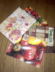 Cooperative Extension Seed catalogs are arriving daily so gardeners can choose what to plant.
