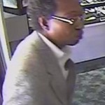 This man was shown on store surveillance video at K-Dee's Jewelers on East Innes Street, which was robbed a week ago. Police say he walked into the store with a woman and inquired about some jewelry and was later seen on video taking items from a cabinet.