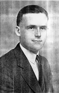 Frank B. John was principal of Boyden High School in 1927 when he was found dead at the age of 28.