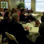 The Rowan County Chamber of Commerce's Power in Partnership Breakfast on Thursday focused on digital marketing to target audiences. Amanda Raymond/Salisbury Post