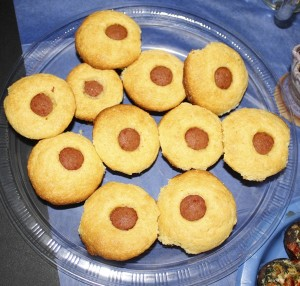Deirdre Parker Smith/Salisbury Post Corn Muffin Dogs. A super easy way to make corndogs: Muffin mix and cut up hotdogs.