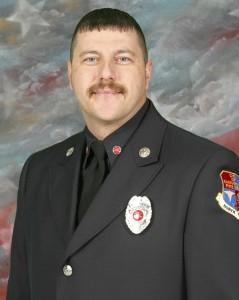 Kannapaolis firefighter Scott Smith