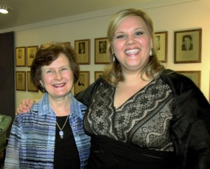 Dr. Renee McCathren, pianist and Christina Pier, soprano