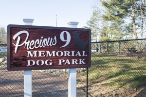 Josh Bergeron / Salisbury Post - The Rowan Animal Cinic recently complete a one-of-a-kind park for Rowan Counry. park allows dogs to stretch their legs or mingle with other canines without a leash.