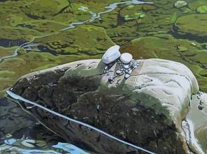 River Rocks by Keyth Kahrs