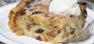 Celtic Times Traditional Irish bread pudding was a delicious way to use up old bread. It's very rich with cream and eggs.