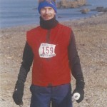 Dan Roseman competed in the 1999 Antarctica Marathon. Submitted photo