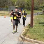 Dr. Michael Waiksnis, one of the principals at Knox, competed in the Rock Your Sox at Knox 5K on  Sunday. Submitted photo