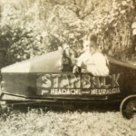 Billy McCora came in second in Salisbury's 1942 Soap Box Derby race, driving the Stanback car. Mark Wineka/Salisbury Post
