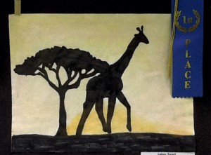 First place, 3rd grade: Lainey Sweet, Shive Elementary.