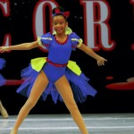 Khari Short performed along with other dance group members during a Sassy Snow White performance at the Fever Production Cheer and Dance Competition in Wilmington. Triple Threat Dance & Charm were overall champions at the competiton, and hope to compete and perform at Disney World next year. Submitted photo