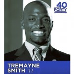 Tremayne Smith, as he appeared in the program for East Carolina University's '40 Under 40 Leadership Awards.' Submitted photo