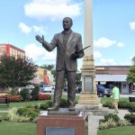 Strom Thurmond statue on Edgefield town square.  Submitted photo