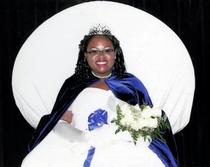 2016 Queen of the Annual Debutante Ball: Adrianna Me'Chelle Kelsey.