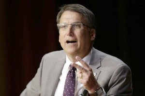 """Gov. Pat McCrory has responded to criticism by insisting """"these complex issues deserve real dialogue about common-sense solutions."""" AP photo"""