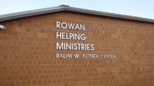 The original Rowan Helping Ministries building bears Ketner's name.