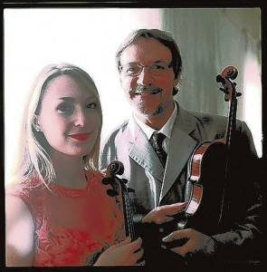 Submitted photo    Maggie and Mark O'Connor will play at Rowan Public Library at 7 p.m. Thursday.